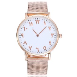 Montre chiffre arabe - Rose...